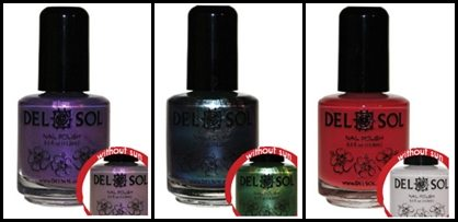 Make Summer Much More Fun with Color-Change Nail Polish by Del Sol