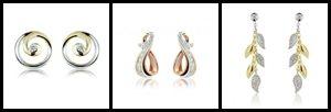 pepper pink earrings