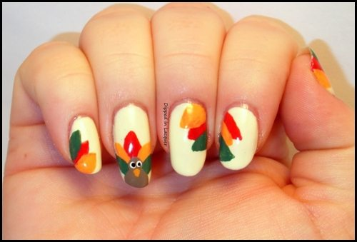 Image from http://nailmagz.com/thanksgiving-nail-art/20-gallery-pictures-thanksgiving-nail-art-collection/