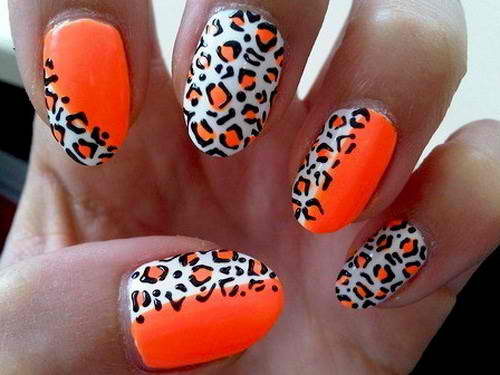 Five Cute Cheetah Nail Designs You Might Want to Try ...