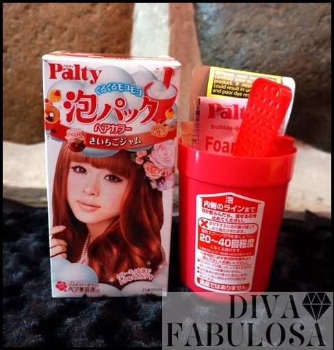 Palty Mousse Hair Color