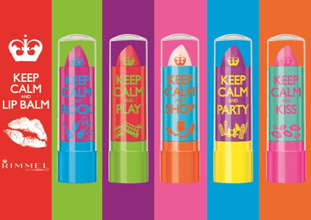 PAMPER YOUR POUT WITH KEEP CALM AND LIP BALM