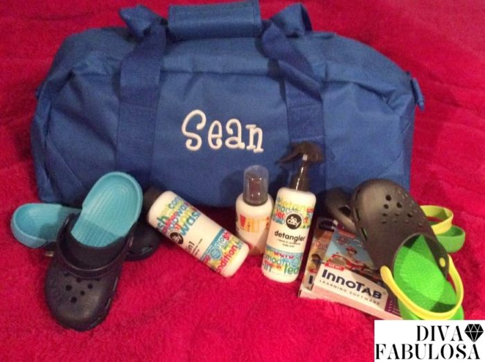Personalized Duffel Bag from Double B Embroidery