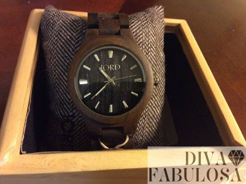 Jord Watch product review by Diva fabulosa