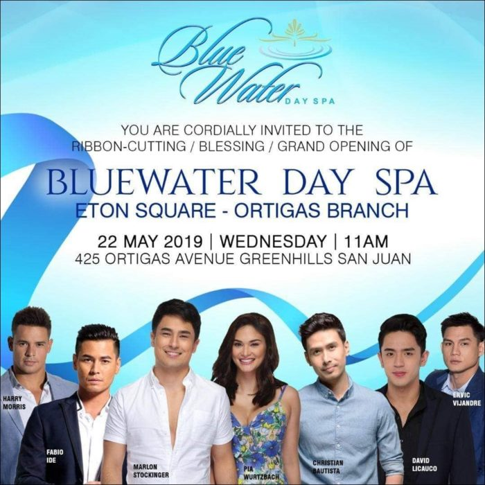 A Grand Time at the Grand Opening of Blue Water Day Spa